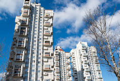 High-rise residential buildings Royalty Free Stock Photos