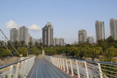 High-rise residential buildings. Modern Architecture in Petah Tikva,Israel Stock Images