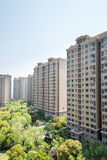 High rise residential buildings Royalty Free Stock Image