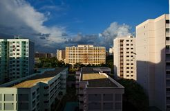 High Rise Residential by HDB Stock Photo