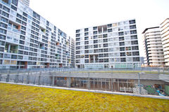 High rise residential housing Stock Image