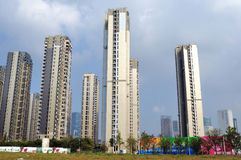 High-rise residential Stock Image