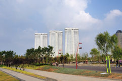 High-rise residential Stock Photography
