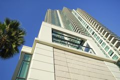 High rise residential tower in San Diego Stock Image