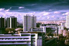 High Rise Scene stock images