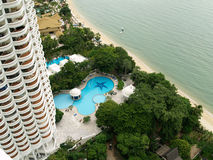 High Rise Seaside Condo Stock Images
