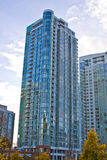 High rise skyline towers Royalty Free Stock Photo