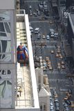 High Rise Superman Stock Photo