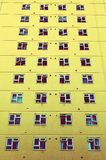 High-rise tower block windows Royalty Free Stock Photo