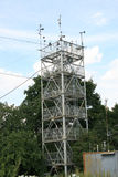 High-rise tower meteoobservatorii Stock Photo