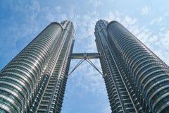 High rise towers, Kuala Lumpur, Malaysia Royalty Free Stock Photography