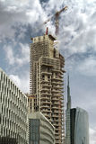 High rise under construction Stock Photos