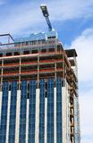 High Rise Under Construction Royalty Free Stock Images