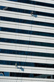 High Rise Window Washer Stock Photos
