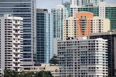 High-rises in Miami Stock Image