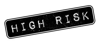 High Risk rubber stamp Royalty Free Stock Images