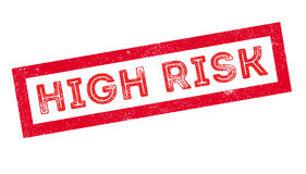 High Risk rubber stamp Royalty Free Stock Image
