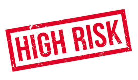 High Risk rubber stamp Stock Photography