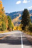 High road in Colorado Fall Stock Photos