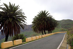 High Road in Masca - Tenerife Royalty Free Stock Photo