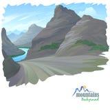 High Rocky Mountain Stock Image
