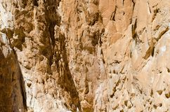 High rocky mountains in the desert in Egypt Dahab South Sinai. High rocky mountains in the desert in Egypt Dahab royalty free stock photography