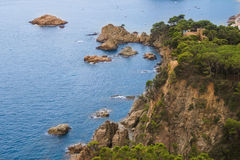 High rocky promontory Stock Images