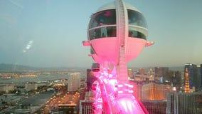 High Roller auf dem Las Vegas-Streifen, USA,