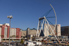 The High Roller construction in Las Vegas, NV on August 11, 2013 Royalty Free Stock Images