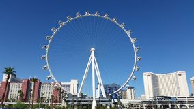 High Roller Ferris wheel in Las Vegas Nevada Royalty Free Stock Images