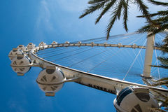 High Roller Ferris Wheel Royalty Free Stock Photography