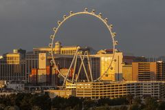 High Roller Las Vegas Stock Images