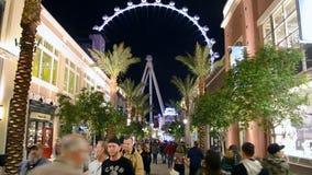 High Roller in Las Vegas, USA, stock footage