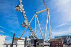High Roller Observation Wheel Las Vegas Nevada Royalty Free Stock Photos