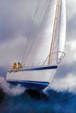 High Roller Sailing Stock Image