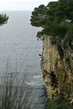 High rugged cliffs Stock Photo