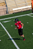 High school american football player Royalty Free Stock Photography