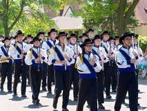 High School Band at Parade Royalty Free Stock Images
