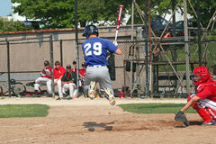 High School Baseball Royalty Free Stock Image