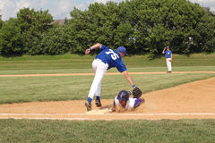High School Baseball Stock Image