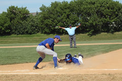 High School Baseball Royalty Free Stock Photography