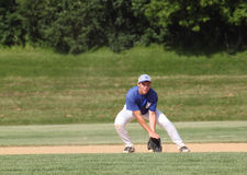 High School Baseball Royalty Free Stock Images
