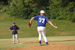High School Baseball Royalty Free Stock Photo