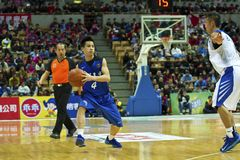 High School Basketball Game,HBL Royalty Free Stock Photos
