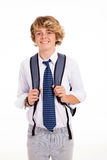 High school boy Stock Photos