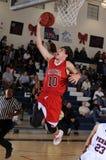 High School Boys Basketball Game Royalty Free Stock Photos