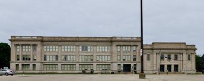 High School central Foto de Stock Royalty Free