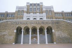 High School central histórica de Little Rock Fotografia de Stock