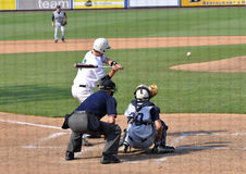 High School championship baseball game Stock Photo