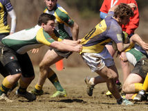 High School Club Rugby Royalty Free Stock Photo